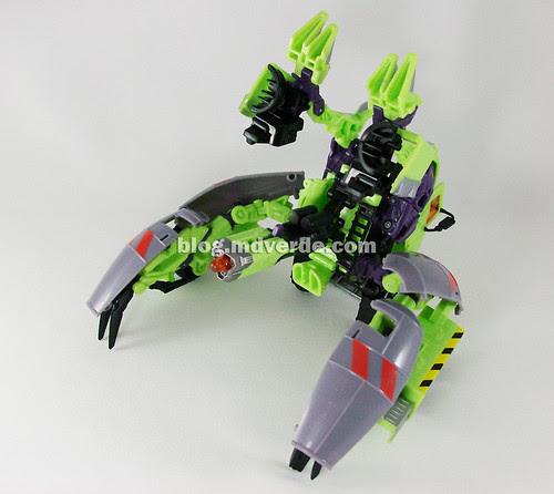 Transformers Mixmaster RotF Voyager (G1 deco) - modo battle
