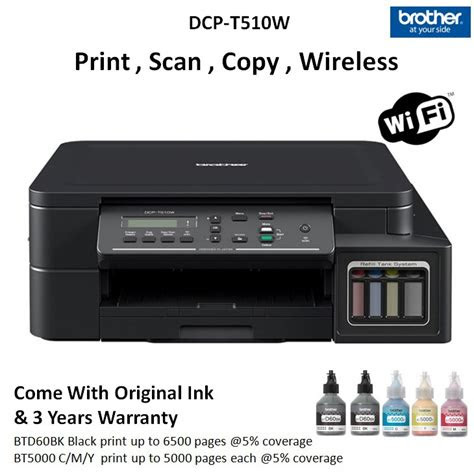 brother dcp tw print scan copy wireless printer