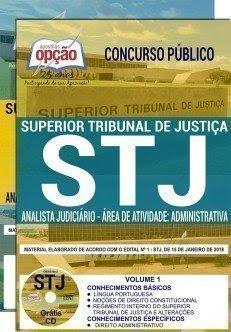 apostila stj 2018 ANALISTA JUDICIÁRIO - ÁREA DE ATIVIDADE