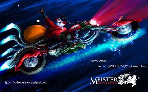 biker santa wallpapers biker santa stock