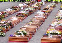 I funerali di Stato delle vittime del terremoto a L'Aquila