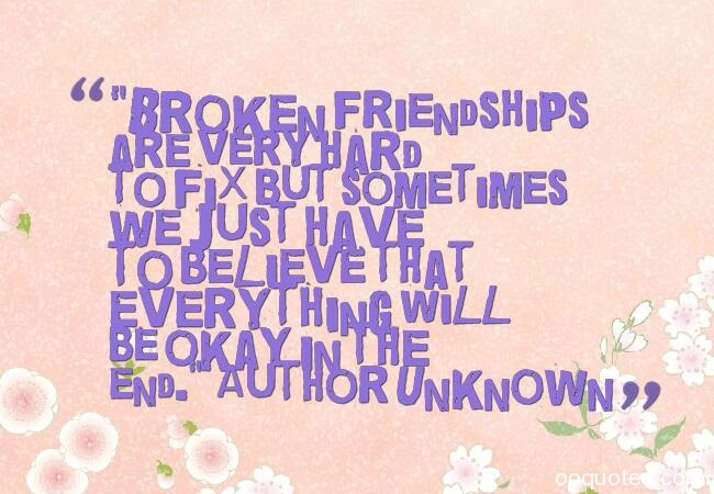 30 Broken Friendship And Lost Friendship Quotes With Images Quotes