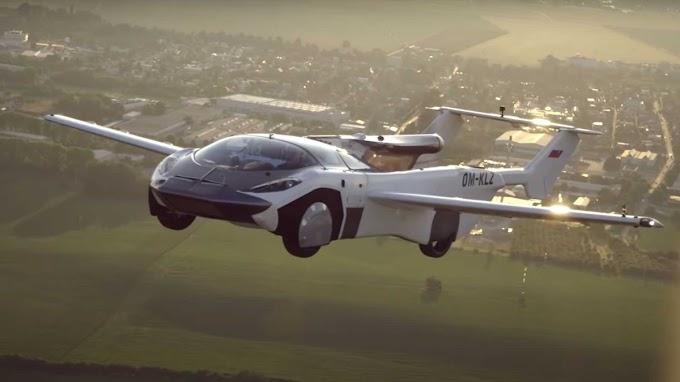EL REVOLUCIONARIO COCHE-VOLADOR AIRCAR DE KLEIN VISION COMPLETA SU PRIMER VUELO INTERURBANO