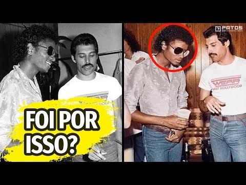 O bizarro motivo que fez com que Freddie Mercury odiasse Michael Jackson