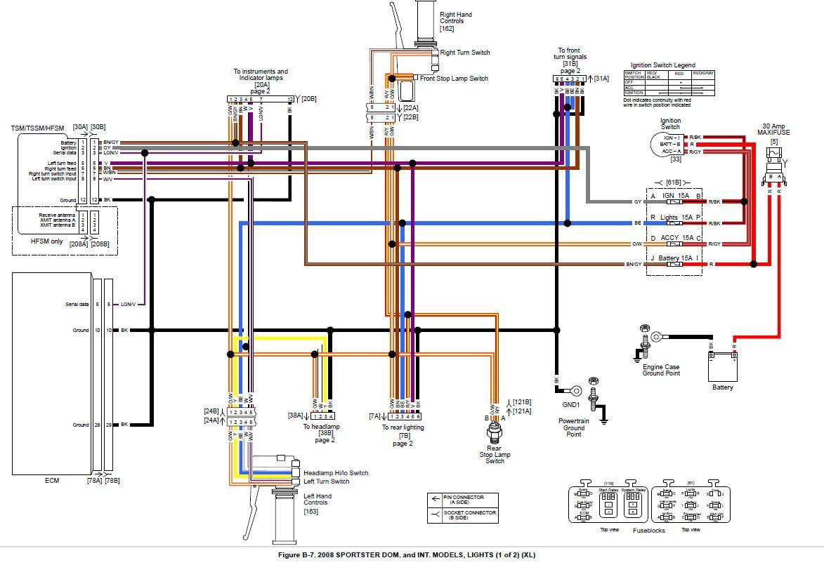 2004 Sportster Wiring Diagram