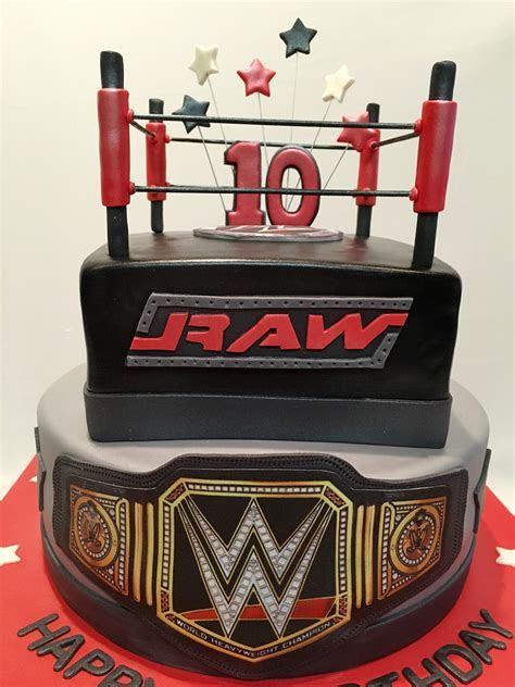 MyMoniCakes: WWE Ring cake with belt