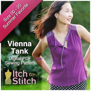 Itch to Stitch Vienna Tank Ad 300 x 300