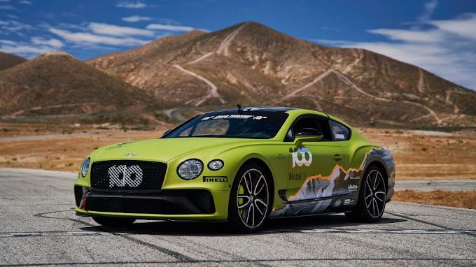 Bentley Car Record At Pikes Peak With The Continental GT This Month