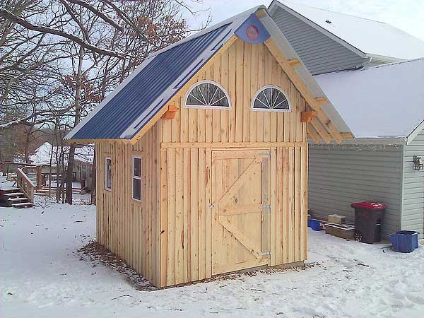 10 X 12 Timber Frame