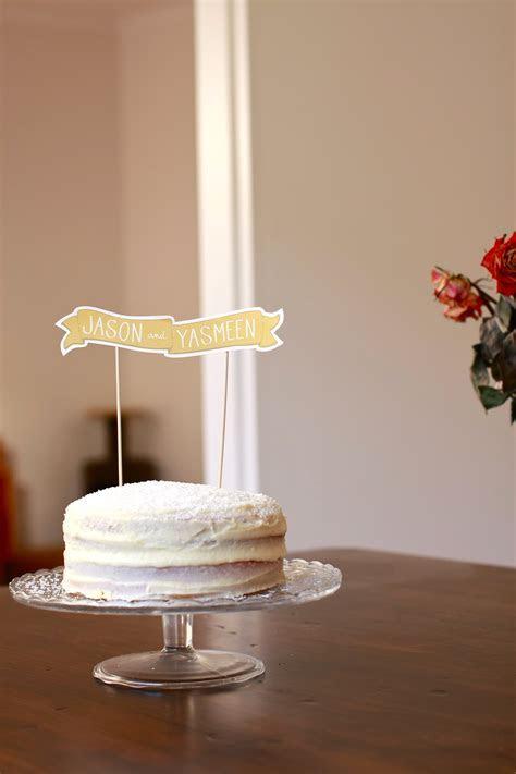 Happy Anniversary: Vanilla, Coconut and Lemon Curd Cake