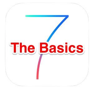 iOS 7 basic tips