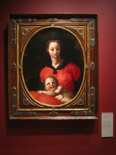 Virgin and Child, known as the Madonna del Libro, c. 1545-46, Jacopo Carucci, called Pontormo _7718