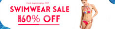 Get Up To 60% OFF Swimwear Sale.