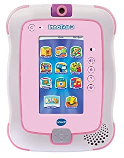 VTech InnoTab 3 The Learning App Tablet, Pink
