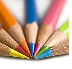 Inclusive - lápis coloridos