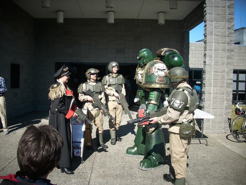 IG with Space Marine 2