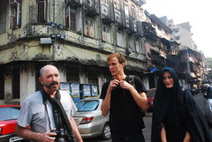 Glenn Losack  and Kim and Viola All Set To Shoot Ashura by firoze shakir photographerno1