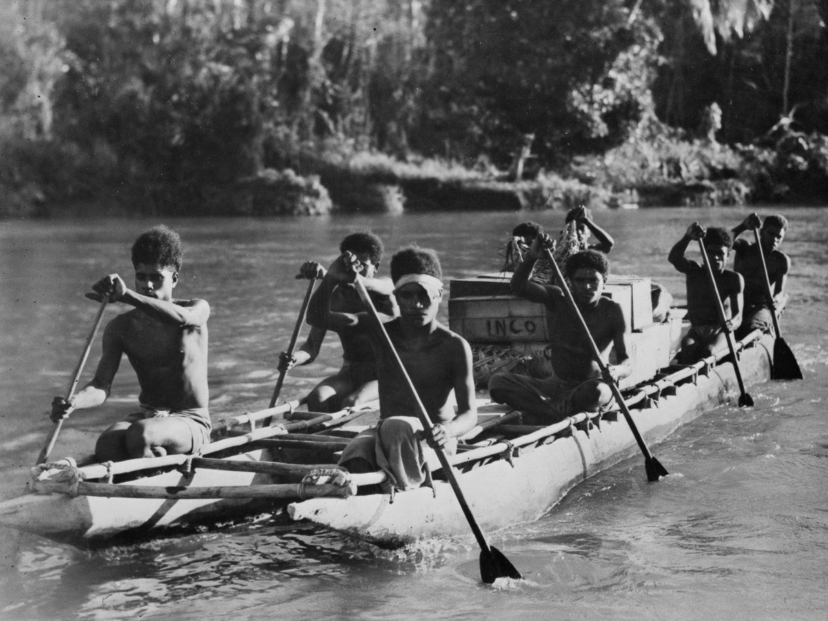 Os povos indígenas de Papua Nova Guiné salvaram centenas de soldados feridos na Segunda Guerra Mundial 08