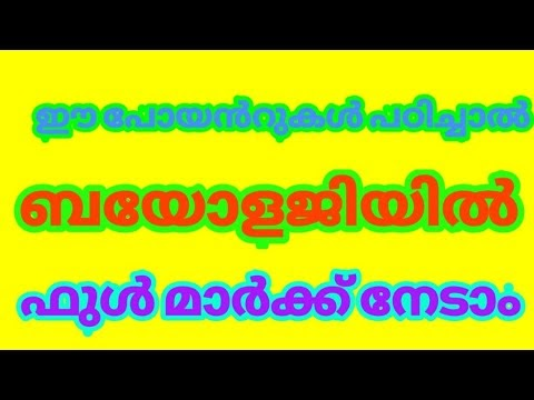 SRI SHARADAMBA HS SHENI: SSLC BIOLOGY UNIT 1 & 2 - VIDEO