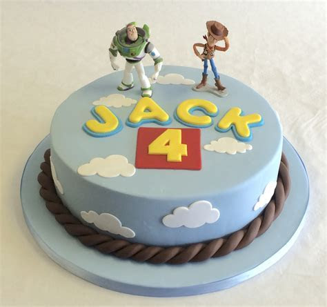 "8"" Round Toy Story Cake   Children's Birthday Cakes"