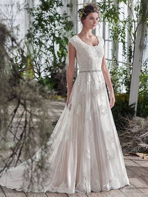 Maggie Sottero Wedding Dress Shannon 6MS827 Main