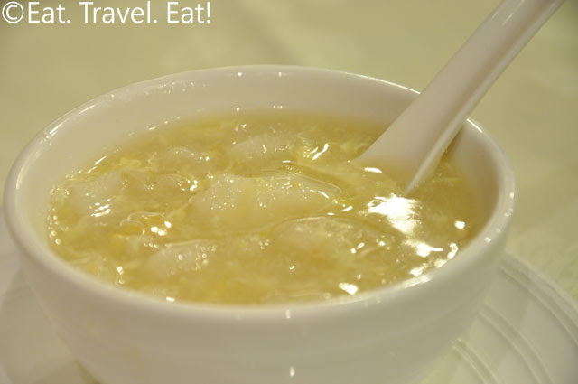 Fish Maw and Corn Soup Bowl