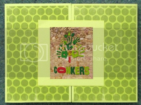 Jimjams - tri-fold mini-book - Conkers Cover