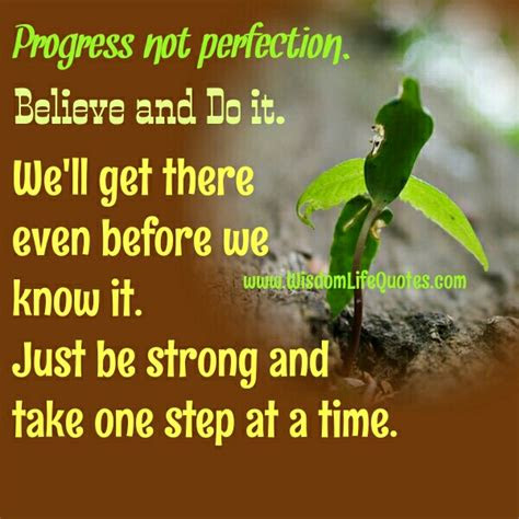 One Step At A Time Quotes