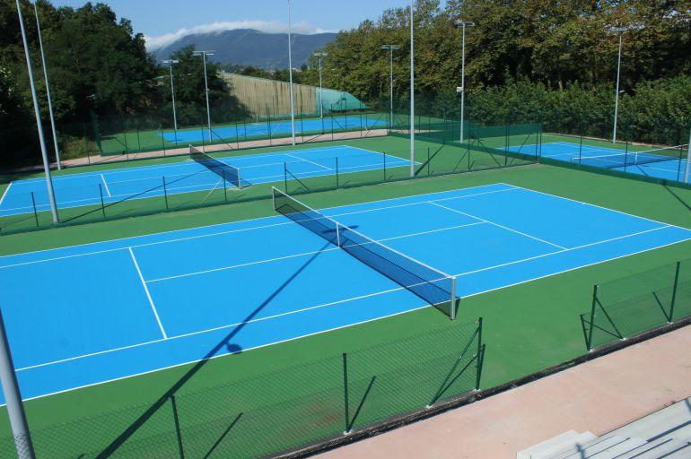 El Espacio San Marcial Txingudi se completa con la apertura de las pistas de tenis y pádel