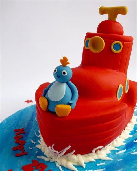 Twirlywoos Boat   Karen's Cakes