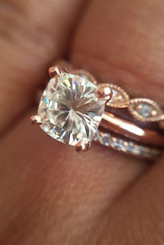 29 Most Popular Rose Gold Engagement/Wedding Rings Worth