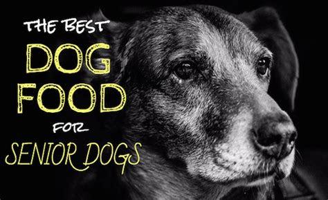 dog food  senior dogs  top picks  older