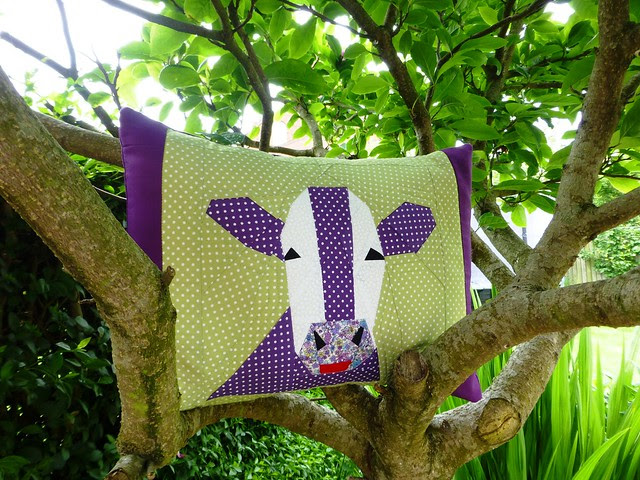Shirley the Cow Cushion