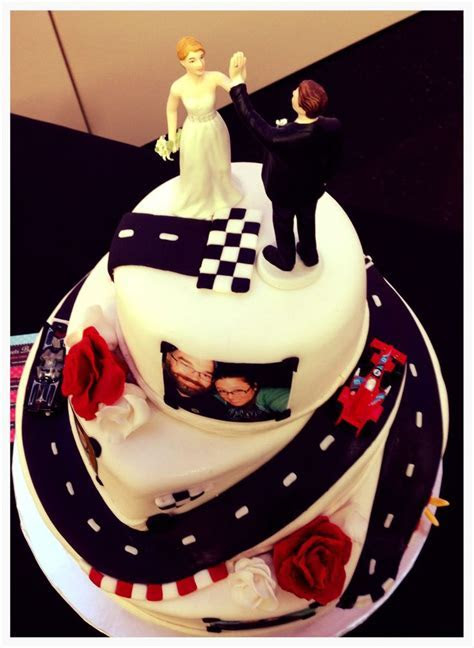 Racing Car Wedding Cake (Winding Road)   My Cakes