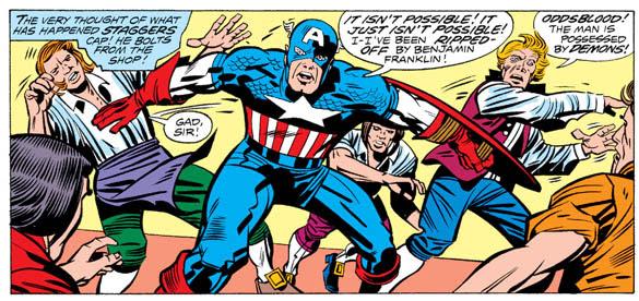 Jack Kirby's Captain America