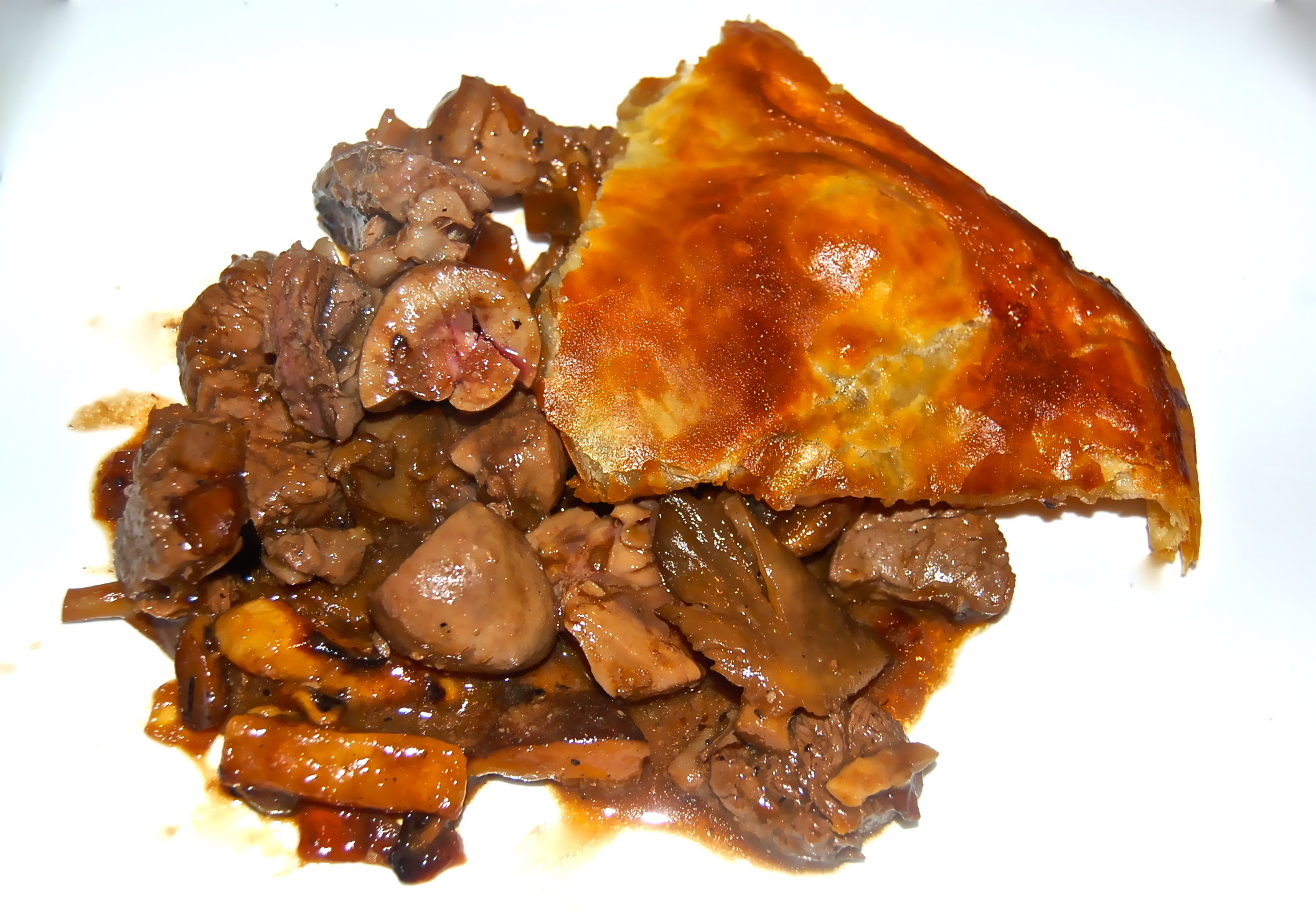 Steak and Kidney Pie   CookTeaser