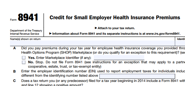 IRS offers relief to employers claiming small business ...
