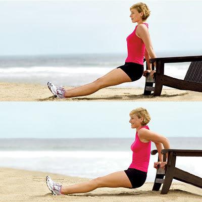 Cách tốt nhất để giảm béo vùng lưng, vai, bắp tay cho bạn