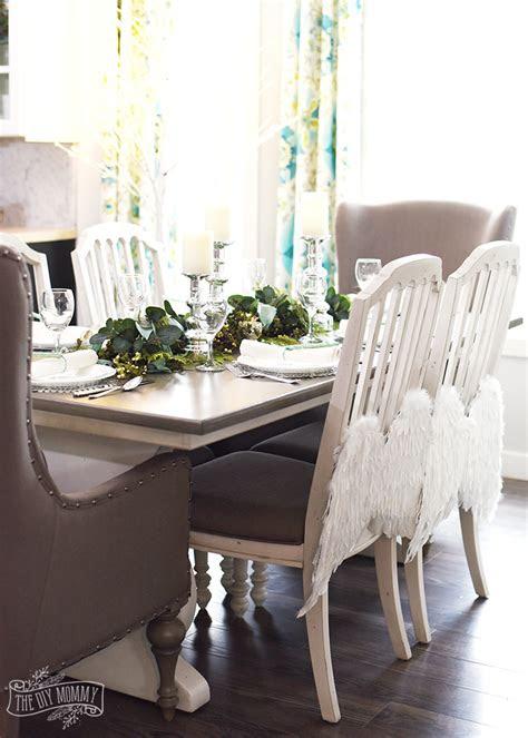 aqua green christmas table  hutch
