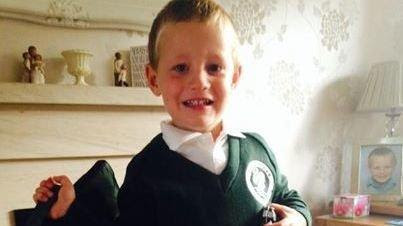 Six-year-old Rhys Gilbert would have to travel 46 miles to a Newbury school