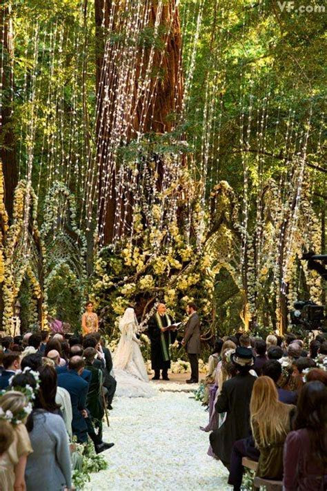 Picture Of unique elf inspired ceremony space with giant