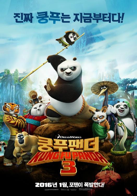 Kung Fu Panda 3 (2016) HDRip 720p Subtitle Indonesia