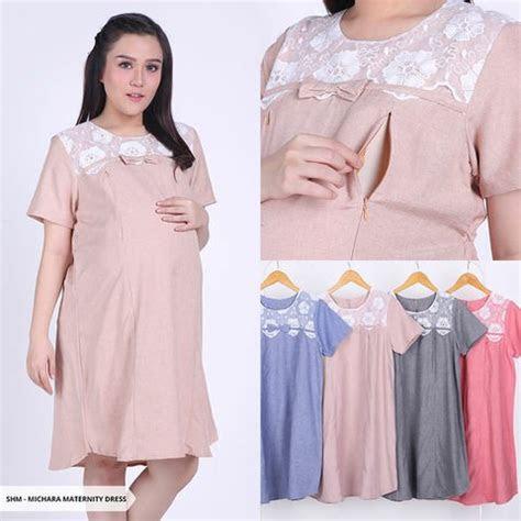 jual dress ibu hamil motif bunga baju hamil cantik atasan