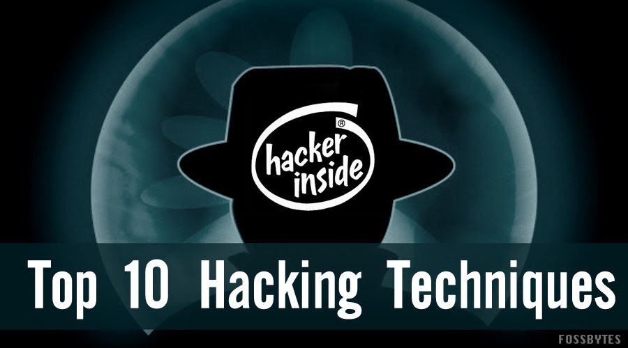 Common hacking techniques