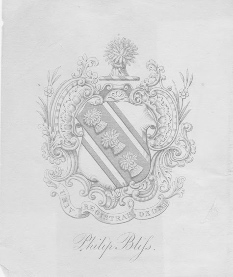 The Bookplate of Philip Bliss
