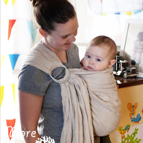 diy babywearing ring sling free pattern tutorial