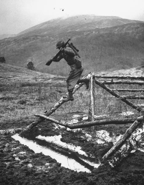 Ranger training in Scotland, 1943