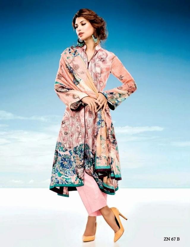Womens-Girl-Wear-Beautiful-Zari-Net-Fancifull-New-Fashion-Lawn-Dress-by-Five-Star-Textile-13