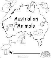 australian animals  printable book enchantedlearningcom