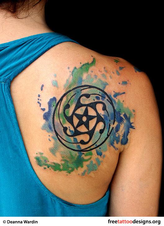 Star Tattoos Shooting Stars And Nautical Star Tattoo Designs